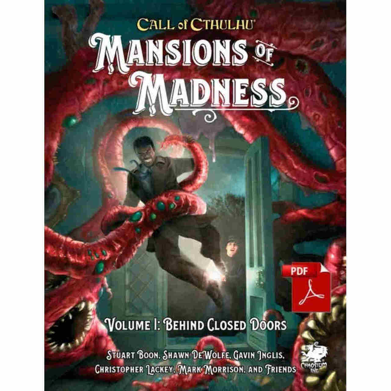 Call of Cthulhu: Mansions of Madness Vol 1 - Behind Closed Doors