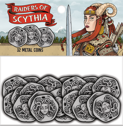 Raiders of Scythia Metal Coins (32)