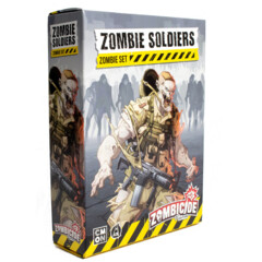 Zombicide 2nd Edtion - Zombie Soldiers Zombie Set