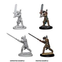 D&D Unpainted Minis - Female Human Barbarian