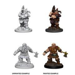 D&D Unpainted Minis - Male Dwarf Barbarian