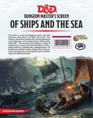 Of Ships and the Sea DM Screen