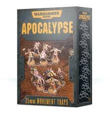WH40K Apocalypse Movement Trays (32MM)