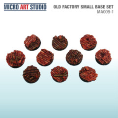 Old Factory Small Base Set 10x 30mm