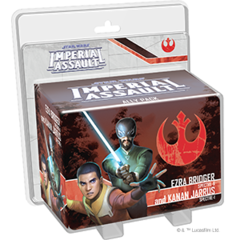 Star Wars: Imperial Assault - Ezra Bridger Spectre-6 Kanan, Jarrus Spectre-1 Pack