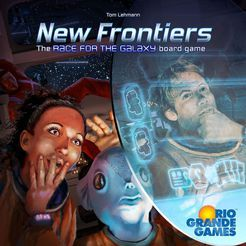 New Frontiers the Race for the Galaxy Boardgame