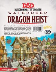 D&D Waterdeep: Dragon Heist Dungeon Master's Screen