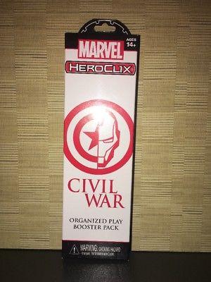 Marvel Heroclix Civil War Booster