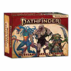 Pathfinder RPG (Second Edition): Bestiary Battle Cards