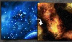 GF9 Battlemat: Frozen/Fiery Nebula 36