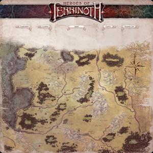 Heroes of Terrinoth Gamemat