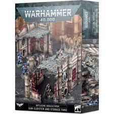 Battlezone: Manufactorum Sub-Cloister and Storage Fane
