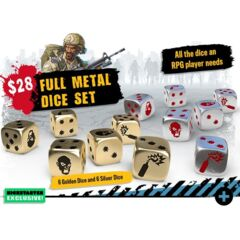 Zombicide 2nd Edition Full Metal Dice (12)