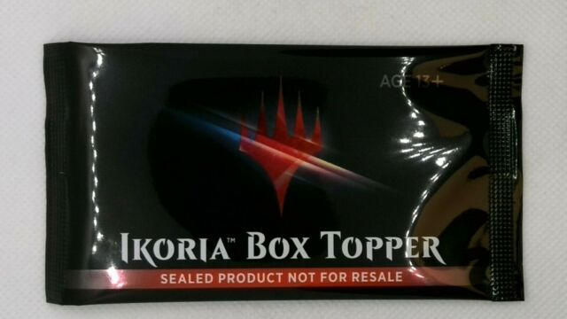 Ikoria: Lair of Behemoths Box Topper Booster Only