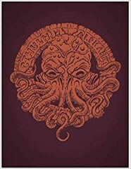 The Cthulhu Alphabet Bronze Foil