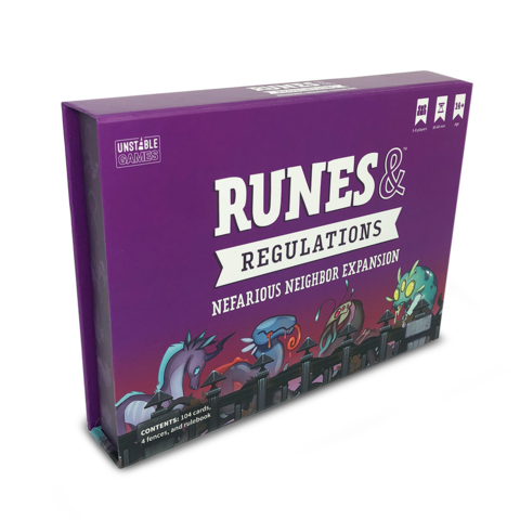 Runes & Regulations Nefarious Neighbor Exp.