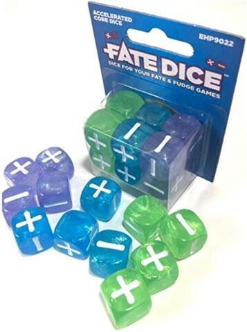 Fate Dice: Accelerated Core Dice