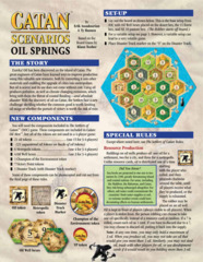 Catan Scenarios: Oil Springs