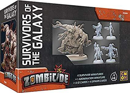 Zombicide Invader Survivors of the Galaxy