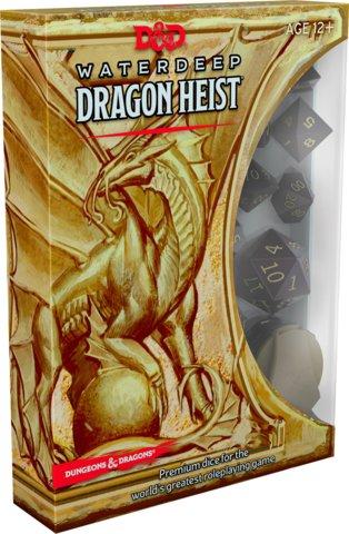 Waterdeep Dragon Heist Dice Set