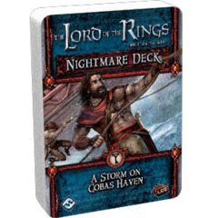 The Lord of the Rings LCG: Nightmare Deck - A Storm On Cobas Haven