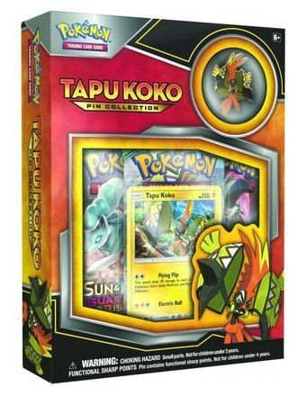 Pokemon Tapu Koko Pin Box