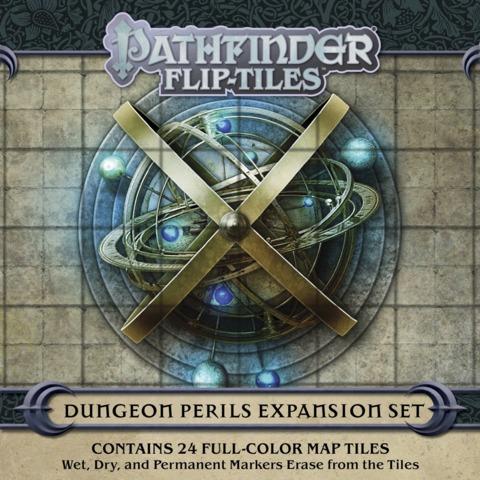 Pf Flip-Tiles: Dungeon Perils Expansion