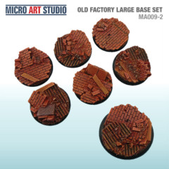 Old Factory Large Base Set 6x 40mm, 1x 50mm