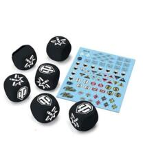 World of Tanks: Miniatures Game-Tank Ace Dice and Decal Pack
