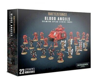 Battleforce Blood Angels Crimson Spear Strike Force
