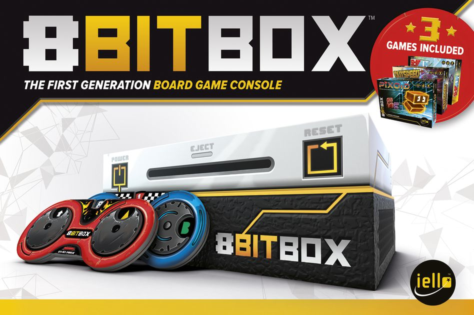 8Bit Box The First Generation Board Game Console