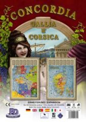 Concordia: Gallia and Corsica Expansion