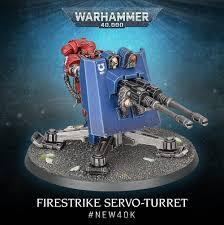 Space Marines: Primaris Firestrike Servo-Turret