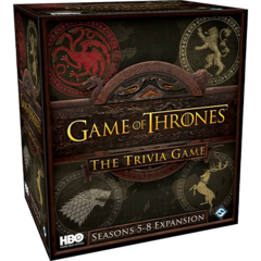 Game of Thrones: The Trivia Game - Seasons 5-8 Expansion
