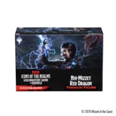 Icons of the Realms - Guildmasters' Guide to Ravnica Niv-Mizzet Red Dragon Premium Figure
