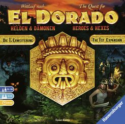 The Quest for El Dorado Heroes and Hexes Expansion