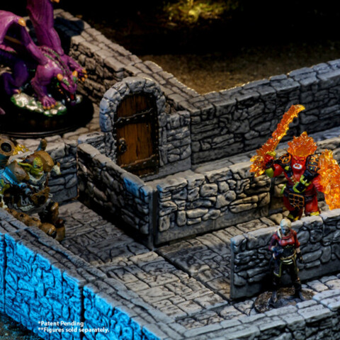 Warlock Tiles: Dungeon Tiles