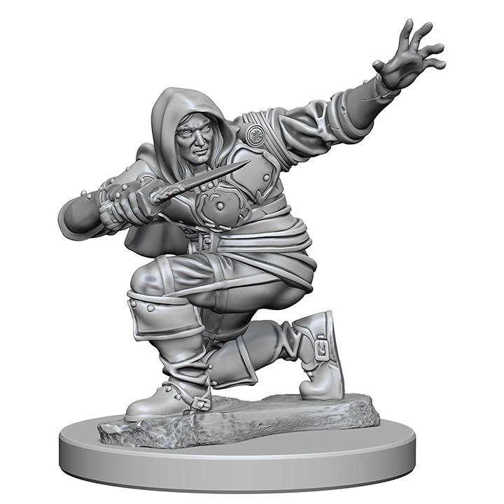 Pathfinder Battles Unpainted Minis - Human Male Rouge
