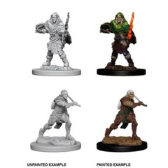 D&D Unpainted Minis - Male Elf Fighter
