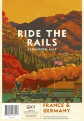 Ride the Rails France & Germany Map