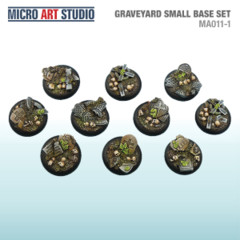 Graveyard Small Base Set 10x 30mm