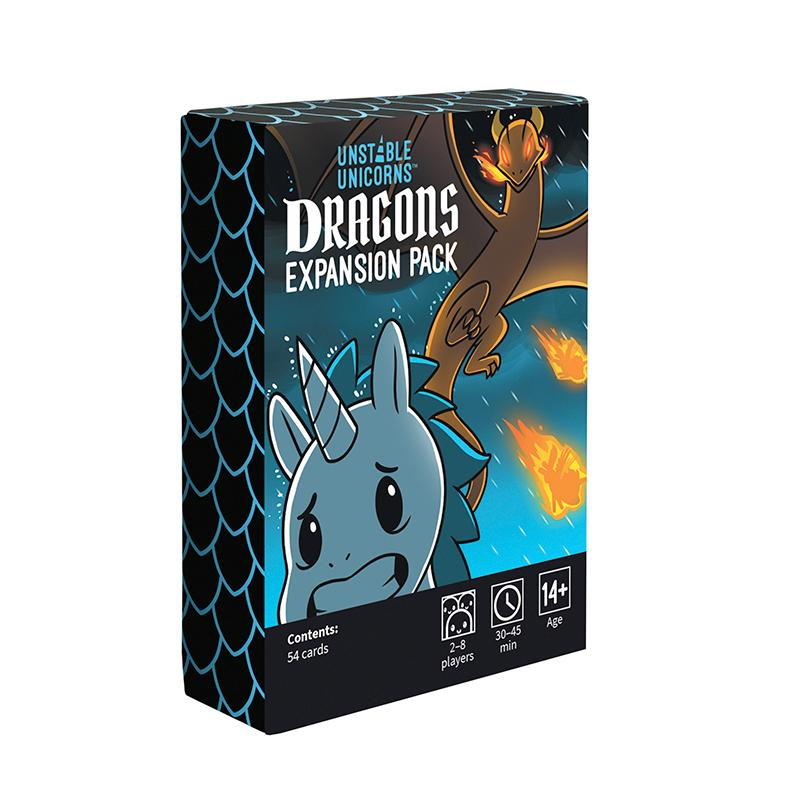 Unstable Unicorns Dragons Expansion Pack