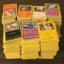 Bulk Pokemon Singles 25 cent