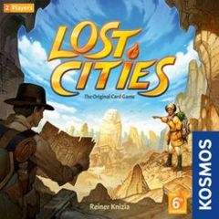 Lost Cities: The Card Game with 6th Expansion (2018)