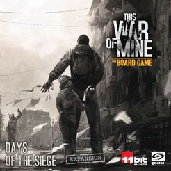 This War of Mine The Board Game - Wartime Diaries: Days of the Siege Expansion