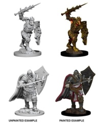 D&D Unpainted Minis - Death Knight & Helmed Horror