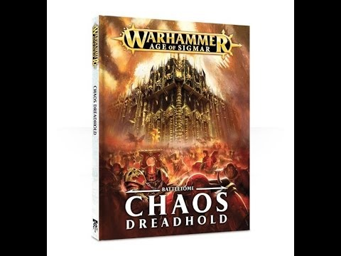 Warhammer Age of Sigmar Battletome Chaos Dreadhold