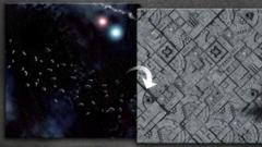 GF9 Battlemat: Asteroids/Space Station 36