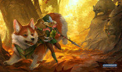 Corgi and Elf