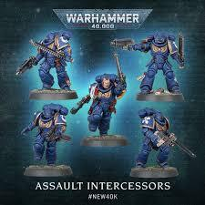 Space Marine Assault Intercessors
